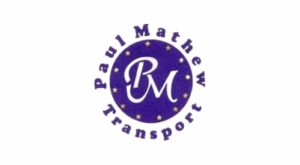 Paul Mathew Transport Logo